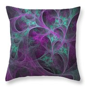 Violet Green Dimensions 16x9 Throw Pillow