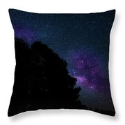 Violet Milk Throw Pillow