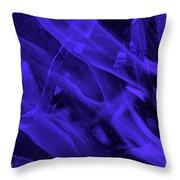 Violet Shine I I Throw Pillow