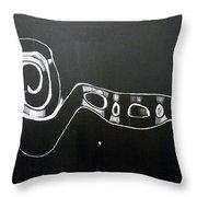 Violin Scroll Throw Pillow