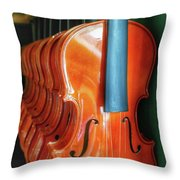 Violins For Sale Throw Pillow