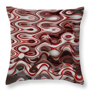 Viral Canes Throw Pillow
