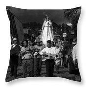 Virgen Concepcion De Ataco Bnw 2 Throw Pillow