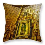 Virgen De Guadalupe 10 Throw Pillow