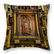 Virgen De Guadalupe 6 Throw Pillow