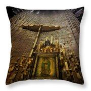 Virgen De Guadalupe 9 Throw Pillow