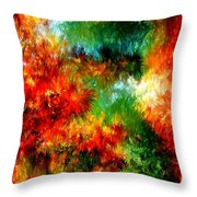 Virgin Forest Throw Pillow