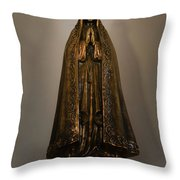 Virgin Mary - Apaneca Throw Pillow