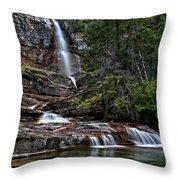 Virginia Falls In The Pool Throw Pillow