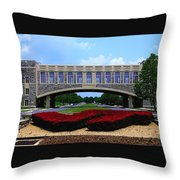Virginia Tech - Torgersen Bridge Throw Pillow