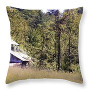 Virginia Willow Throw Pillow
