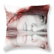 Virginity Throw Pillow
