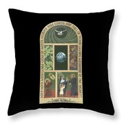 Viriditas - Finding God In All Things Throw Pillow
