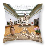 Virtual Exhibition - Girs 31 Throw Pillow