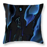 Virtual Life 1 Throw Pillow