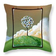 Virtue Throw Pillow