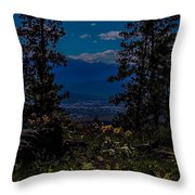 Virtuous Vista Throw Pillow