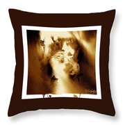 Visage Cache Throw Pillow