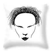 Visage Throw Pillow