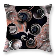 Vision And Morphism Throw Pillow