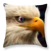 Vision Of Freedom II Throw Pillow