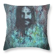 Vision Of Meher Baba Throw Pillow