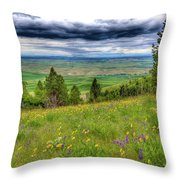 Vision Of Spring Throw Pillow
