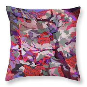 Vision Of The Ruins Throw Pillow