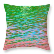 Vision Of The Beauty From Angels Throw Pillow