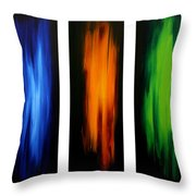 Visionary By Madart Throw Pillow