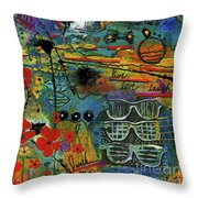 Visions Of A Good Life Throw Pillow