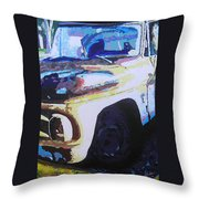 Visions Of Alpine Revisited Throw Pillow