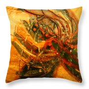 Visions Of Dance - Tile Throw Pillow