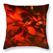 Visions Of The Forest Floor Throw Pillow