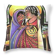 Visitation - Kitchen - Mmvsk Throw Pillow
