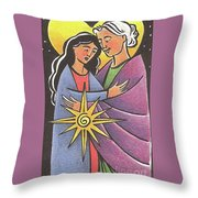 Visitation - Night - Mmvsn Throw Pillow