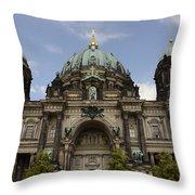 Visiting Berlin 2 Throw Pillow