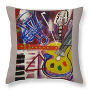 Vismuso Throw Pillow