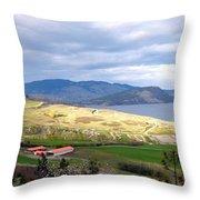 Vista 8 Throw Pillow
