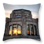 Vista House 0021 Throw Pillow