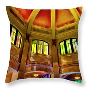 Vista Interior One Throw Pillow