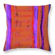 Visual Cadence Xix Throw Pillow