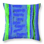 Visual Cadence Xxi Throw Pillow