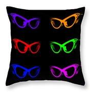 Visual Distinction Full Spectrum Throw Pillow