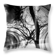 Visual Funk 1 Throw Pillow