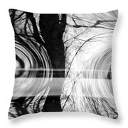 Visual Funk 2 Throw Pillow