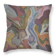Visual Jazz #20 Throw Pillow