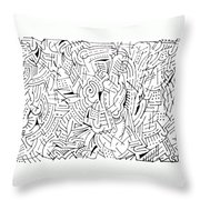 Visualization Throw Pillow