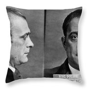 Vito Genovese (1897-1969) Throw Pillow