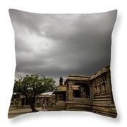 Vittala Temple Throw Pillow